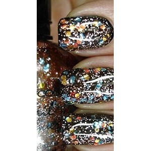 (GrandSao) Color Shooting Star Effect Glitter Nail Polish Lacquer