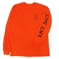 HARD LUCK ハードラック OG EAT SHIT LONG SLEVE Tシャツ ORANGE