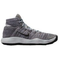 Nike React Hyperdunk 2017 Flyknit メンズ Cool Grey/Anthracite/Pure Platinum/White ナイキ バッシュ ハイパーダンク...