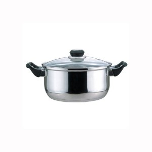 Culinary Edge 01005 Dutch Oven with Glass Cover, 5.5-Quart by Culinary Edge