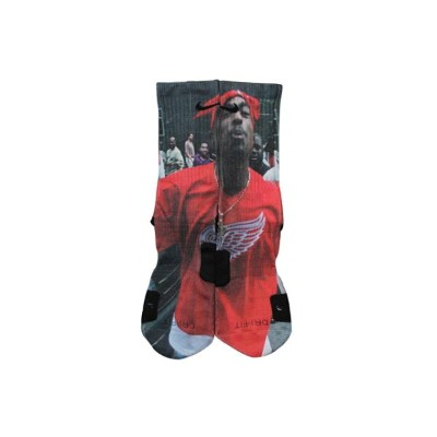 Elite Exclusive SOCKS (TUPAC: White)靴下/ハイソックス/白