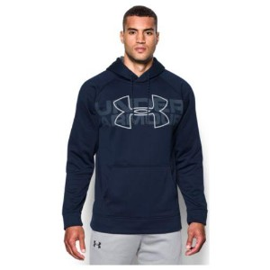 (取寄)アンダーアーマー メンズ アーマー フリース PO フーディ Under Armour Men's Armour Fleece PO Hoodie Midnight Navy Graphite