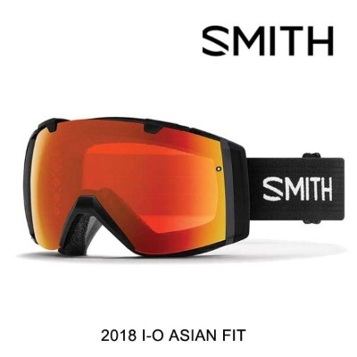 2018 SMITH スミス ゴーグル GOGGLE I/O BLACK/CHROMAPOP EVERYDAY RED MIRROR+CHROMAPOP STORM ROSE FLASH ASIAN...