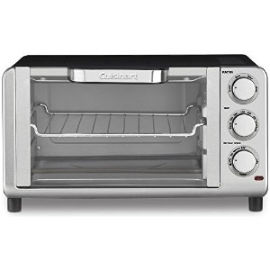 Cuisinart Compact Toaster Oven Broiler Stainless Steel (TOB-80FR)(Certified Refurbished) [並行輸入品]
