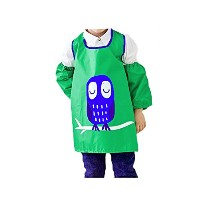 shinybaby防水子供用エプロンOversleeves for Arts and Crafts–アートSmock and Kid Smocks forペイントand Baking