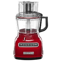 New KitchenAid KFP0933ER 9-Cup Food Processor with Exact Slice System - Red 正確なスライスシステムを備えた新しいKitche...