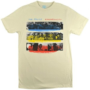 THE POLICE ポリス Synchronicity Tシャツ