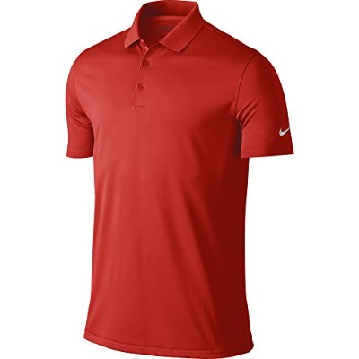 (Small, University Red/White) - NIKE Men's Dry Victory Polo
