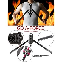 GD a-force調節可能なChest ExpanderブラックSL 2015新しいアップグレード18 ~ 88ポンドfor Professional