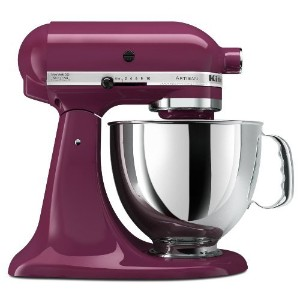 KitchenAid Artisan Mixer 5KSM150PSE (220Volt WILL NOT WORK IN THE USA) (Boysenberry) [並行輸入品]