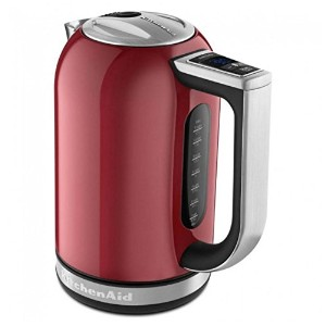 KitchenAid Artisan Electric Kettle KEK1722 Red Led Display Hot Water KitchenレッドLEDディスプレイホットウォーターキッチン...