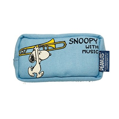 SNOOPY with Music スヌーピー マウスピースポーチ 限定品《ライトブルー》 (トロンボーン)