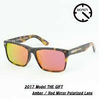 Ronin Eyewear ロニン サングラス 2017 GIFT Amber / Red Mirror Polarized Lens