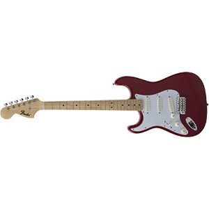 Fender エレキギター MIJ Traditional '68 Stratocaster® Left-Hand Maple Torino Red