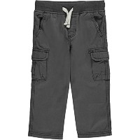 Carter's Baby Boys' Drawcord Cargo Pants - charcoal gray, 24 months by Carter's