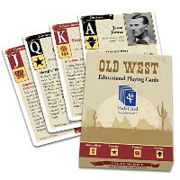 vedacard Old West教育Playing Cards–収集価値–Have Fun学習履歴
