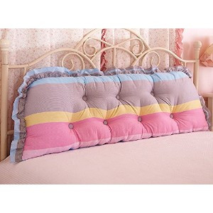 Bed Double Soft Bag Cushion Triangle Sofa Waist Large Back Cotton Pillow ( 色 : # 1 )