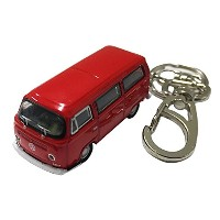 [KEY CHAINS by ad] 1:87スケール 1972 Volkswagen Bus T2 ワーゲンバス キーチェーン
