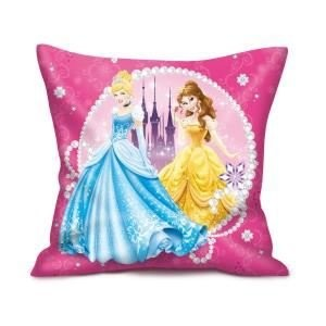 Disney Prinzessin Kissen (2 Motive) [35x35 cm] [Import allemand]