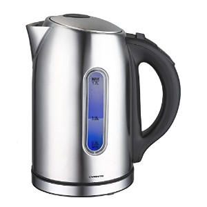 Ovente KS88S Temperature Control Stainless Steel Electric Kettle, 1.7 L, Brushed [並行輸入品]
