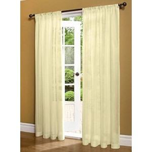 Thermasheer Weathershield Insulated薄手パネル 95 by 50-Inch 70736-117 - 50 x 95Ivory