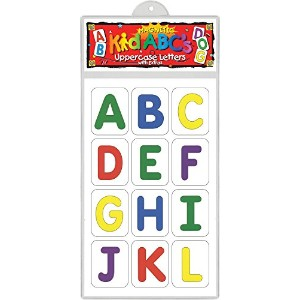 Barker Creek - Office Products Learning Magnets, Pattern Blocks Uppercase Letters (LM-1120) by...