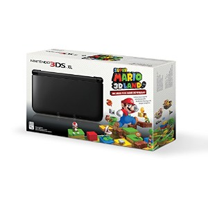 Black Nintendo 3DS XL with (Pre-installed) Super Mario 3D Land Game(US Version, Imported)