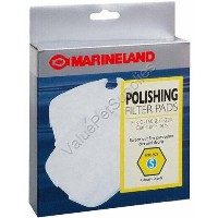 Marineland Canister Filter C-160 & C-220 Polishing Filter Pads, Rite-Size S by MarineLand