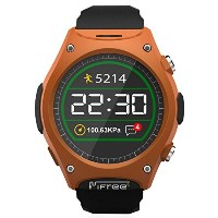 LUOOV Sport Smart Outdoor Wristwatch Phone スマートウォッチ iPhone &Android 液晶画面 気圧測定 心拍数計 電話応答 歩数計 着信通知...