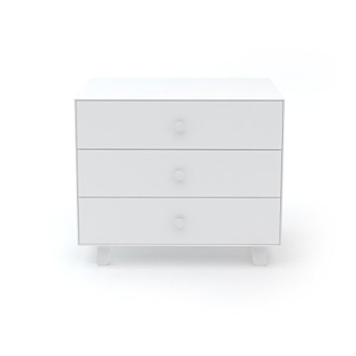 Oeuf Merlin 3 Dresser with Sparrow Base in White by Oeuf Nursery Cribs and Furniture