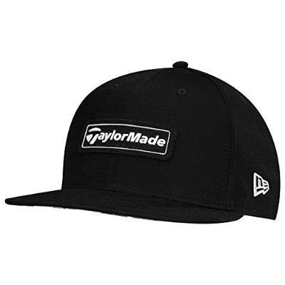 (Black/White, One Size) - TaylorMade Lifestyle 2017 New Era 9fifty Hat