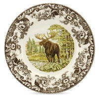Spode Woodland Majestic Moose Dinner Plate by Spode