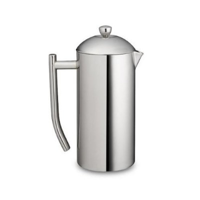 Frieling French Press Ultimo 17oz ~ Insulated Stainless Steel Mirror Finish Coffee Press (17-Oz.)...