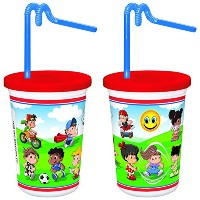 Berkley Square Kid Cup with Lid and Straw、12オンス( Set of 250 )