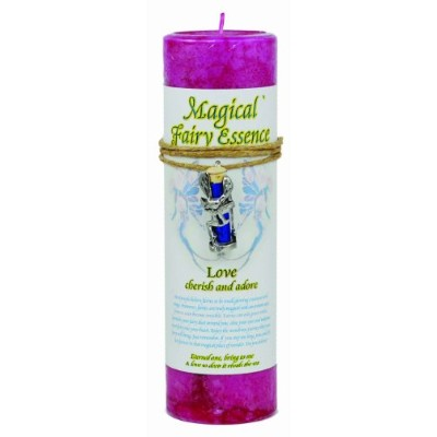Love Pillar Candle with Fairy Dustネックレス