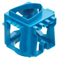 Miniamo 10cm Blue Cookie Cutter Cube
