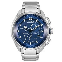 Citizen Watches Mens bz1021 – 54l eco-drive One Size Silver/Tone