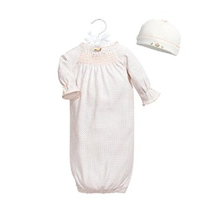 Baby Dumpling Heaven Sent Special Delivery Newborn Gown Gift Set, Girls, White, 0-3 Months by Baby...