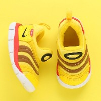 NIKE DYNAMO FREE (TD)(ナイキ ダイナモ フリー TD)TOUR YELLOW/BLACK-SPEED RED-ALE BROWN【キッズ スニーカー】18SP-I