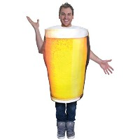 Pint of Beer Costume (Adult Costumes) - Male - One Size