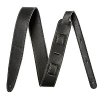 "Fender ストラップ Artisan Crafted Leather Strap, 2"" Black"