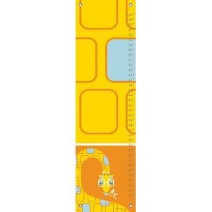 Oopsy Daisy Growth Charts Keen Giraffe by Kelly Angelovic, 12 by 42-Inch by Oopsy Daisy