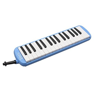 WINGONEER Portable 32 Key Melodica学生用ハーモニカバッグ付 - ブルー