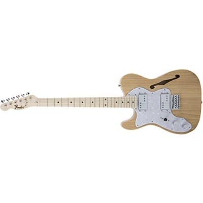 Fender エレキギター MIJ Traditional '70s Telecaster® Thinline Left-Hand Maple Natural