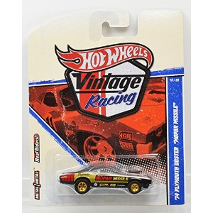 """MATTEL HOT WHEELS 1:64scale """"VINTAGE RACING"""" """"'74 PLYMOUTH DUSTER  MOPAR MISSILE""""(Black) マテル..."""