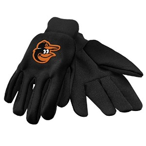 Caseys 884966539398 Baltimore Orioles Work Gloves