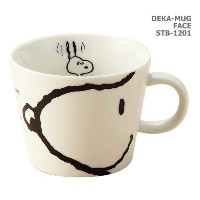 Snoopy Peanuts Character Large Size Mug Cup Face by Peanuts