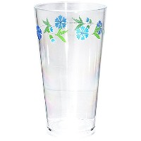 Corelle Coordinates Spring Blue 19-Ounce Round Acrylic Glasses, Set of 6 [並行輸入品]
