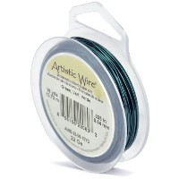 Artistic Wire 22-Gauge Green Wire,15-Yards by Beadalon