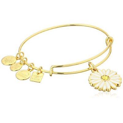 Alex and Ani Charity by Design、デイジーバングルブレスレット Expandable